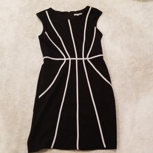 Sandra's Darren black and white dress, 8